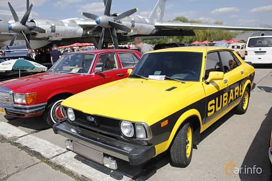 Subaru Leone 4 Door Sedan 1977