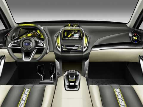 Interior of Subaru Viziv 2 Concept Concept, 2014