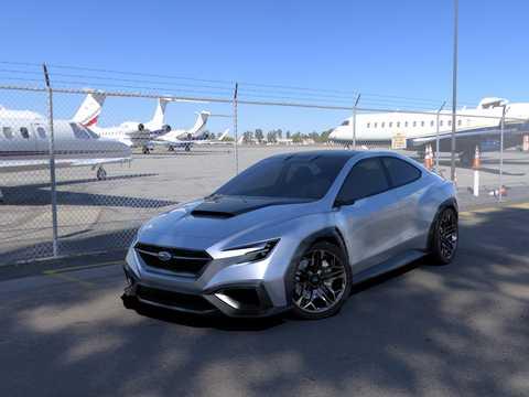 Subaru Viziv Performance Concept Concept 2017