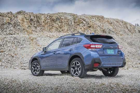 Back/Side of Subaru XV 2018