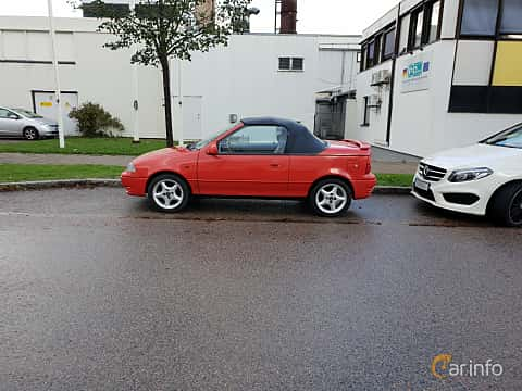 Sida av Suzuki Swift Convertible 1.3 Manual, 68ps, 1992