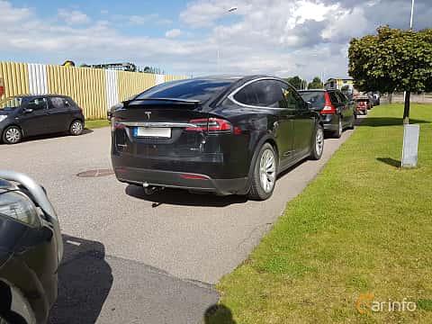 Bak/Sida av Tesla Model X 90D 90 kWh AWD Single Speed, 423ps, 2016