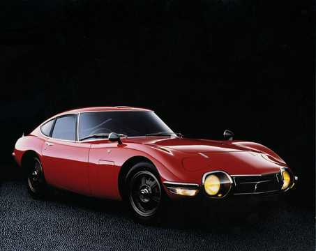 Front/Side  of Toyota 2000 GT 2.0 150hp, 1967
