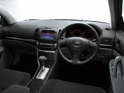 Interior of Toyota Allion T240