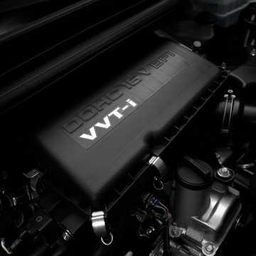 Engine compartment  of Toyota Avanza 2012
