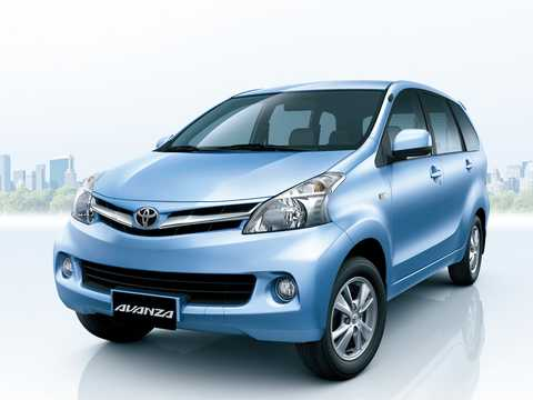 Front/Side  of Toyota Avanza 2012