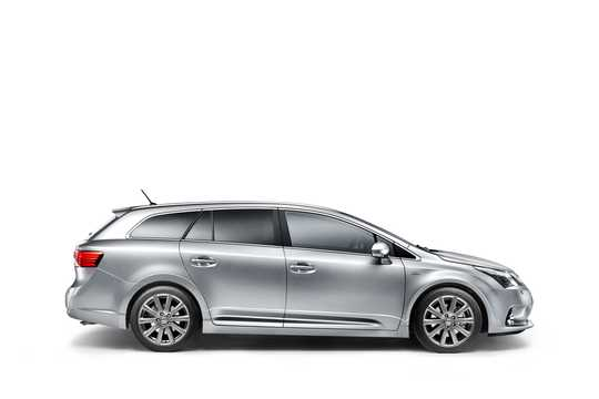 Side  of Toyota Avensis Combi 2012