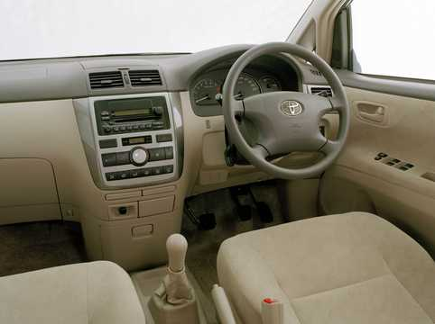 Interior of Toyota Avensis Verso 2001