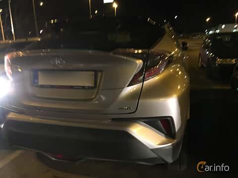 Back/Side of Toyota C-HR 1.2 AWD CVT, 116ps, 2016