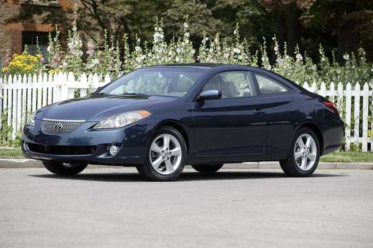 Front/Side  of Toyota Camry Solara Coupé 3.3 V6 Automatic, 228hp, 2004