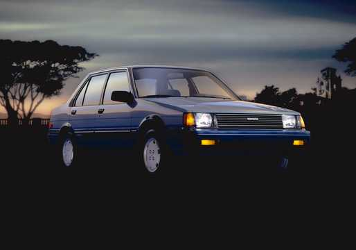 Front/Side  of Toyota Corolla Sedan 1985