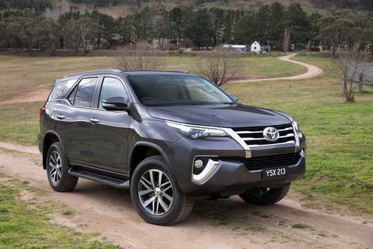 Front/Side  of Toyota Fortuner 2015
