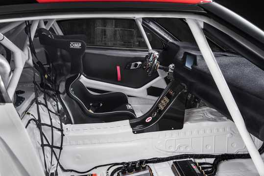Interior of Toyota GR Supra Racing Concept Concept, 2018