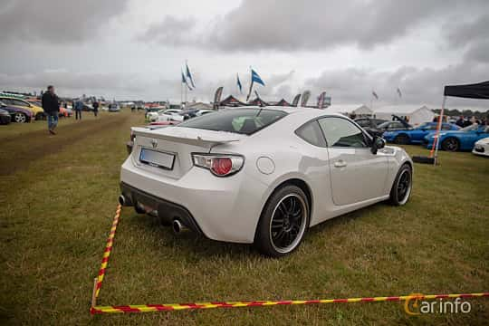 Back/Side of Toyota GT86 2.0 Manual, 200ps, 2013 at Vallåkraträffen 2019