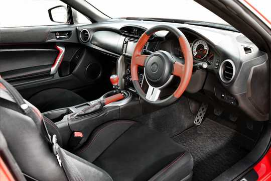 Interior of Toyota GT86 2.0 Manual, 200hp, 2012