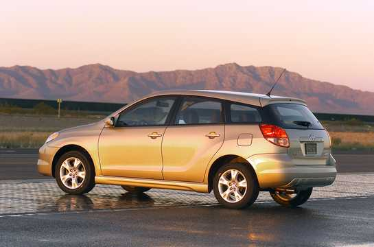 Back/Side of Toyota Matrix  Station Wagon 2004