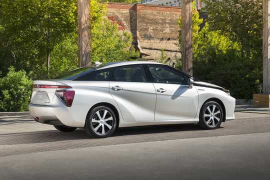 Back/Side of Toyota Mirai FuelCell Single Speed, 154hp, 2016