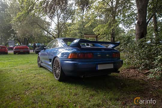 Back/Side of Toyota MR2 2.0 Manual, 154ps, 1997 at Billesholms Veteranbilsträff 2019 augusti
