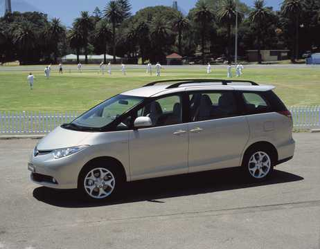 Front/Side  of Toyota Previa 3.5 V6 Automatic, 275hp, 2007