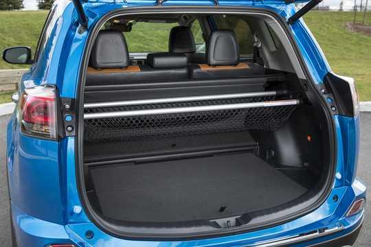 Interior of Toyota RAV4 Hybrid E-FOUR 2.5 i-AWD ECVT, 197hp, 2016