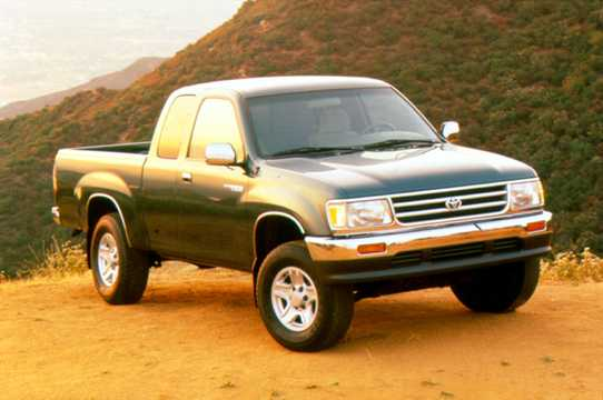 Front/Side  of Toyota T100 Extended Cab 1995