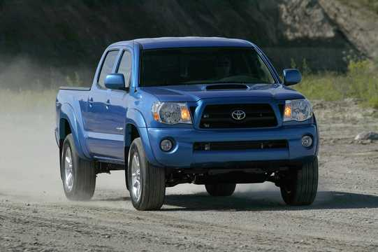 Front/Side  of Toyota Tacoma Crew Cab 2006