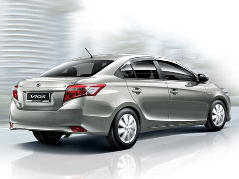 Back/Side of Toyota Vios 2013