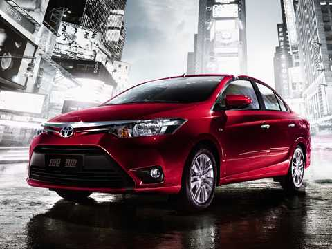 Front/Side  of Toyota Vios 2013