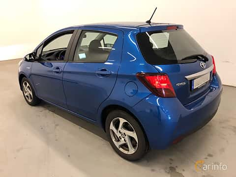 Bak/Sida av Toyota Yaris Hybrid 1.5 VVT-i CVT, 101ps, 2015