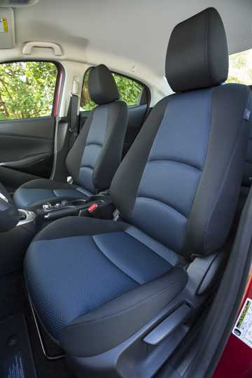 Interior of Toyota Yaris iA 1.5 Automatic, 107hp, 2017