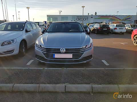 Front  of Volkswagen Arteon 2.0 TDI 4Motion DSG Sequential, 239ps, 2017