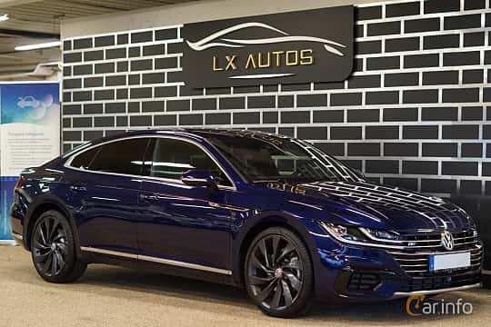 Front/Side  of Volkswagen Arteon 2.0 TDI 4Motion DSG Sequential, 240ps, 2018