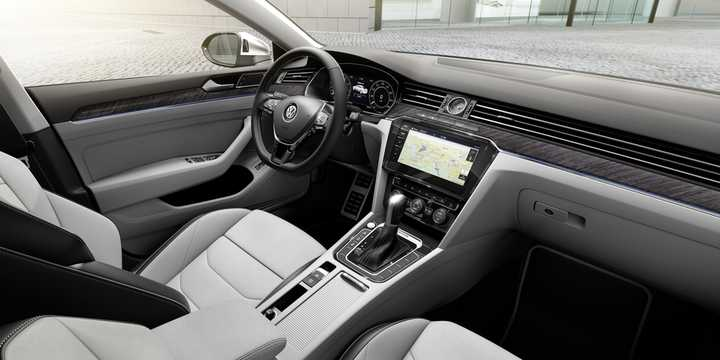 Interior of Volkswagen Arteon 2017