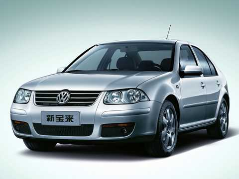 Front/Side  of Volkswagen Bora HS 1st Generation