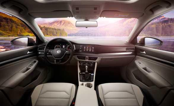 Interior of Volkswagen Bora 2018