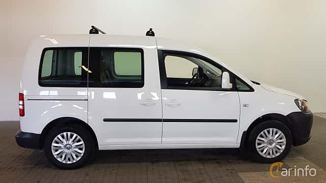 Sida av Volkswagen Caddy Life 1.6 TDI Manual, 75ps, 2014