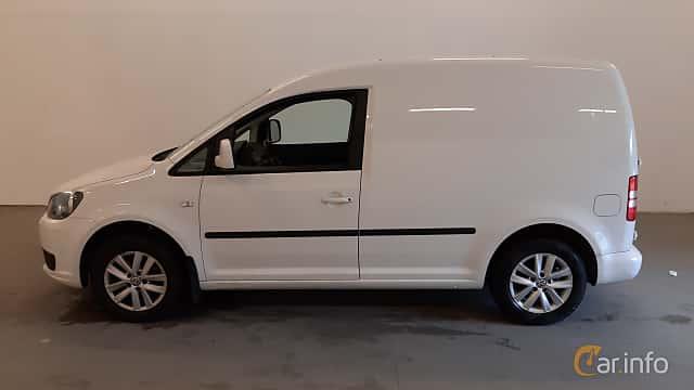 Sida av Volkswagen Caddy Panel Van 1.6 TDI DSG Sequential, 102ps, 2014