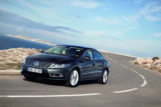 Front/Side  of Volkswagen CC 2012