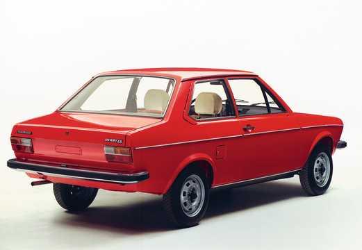 Back/Side of Volkswagen Derby 1977