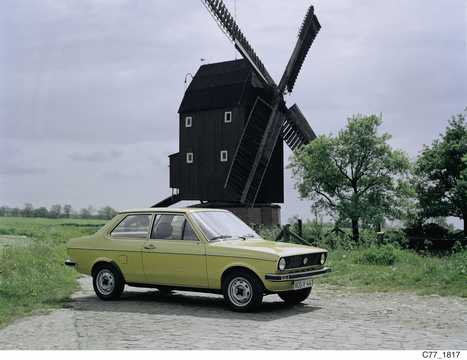 Front/Side  of Volkswagen Derby 1977