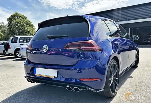 Back/Side of Volkswagen Golf R 5-door 2.0 4Motion DSG Sequential, 310ps, 2018