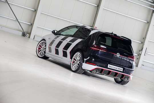 Back/Side of Volkswagen Golf GTI Next Level 2.0 TSI DSG Sequential, 411hp, 2018