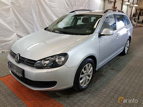 Fram/Sida av Volkswagen Golf Variant 1.6 TDI DSG Sequential, 105ps, 2011