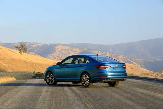 Back/Side of Volkswagen Jetta 1.4 TSI 150hp, 2019