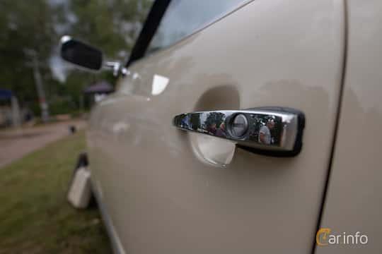 Close-up of Volkswagen Karmann-Ghia 1600 1.6 Manual, 50ps, 1972 at West Coast Bug Meet 2019
