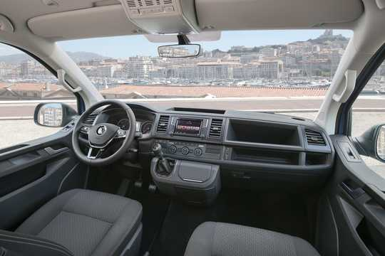Interior of Volkswagen Multivan 2016