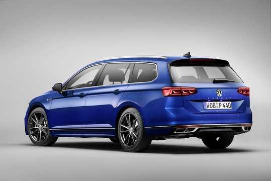 Bak/Sida av Volkswagen Passat Variant 2019