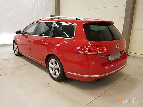 Bak/Sida av Volkswagen Passat Variant 2.0 TDI BlueMotion 4Motion DSG Sequential, 177ps, 2013
