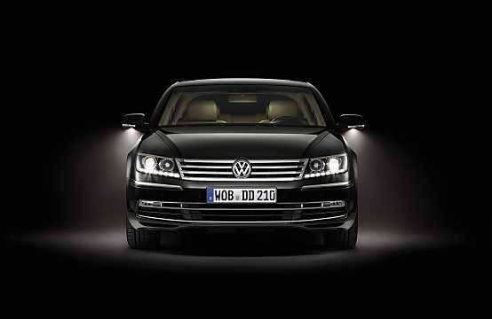Front  of Volkswagen Phaeton 2015