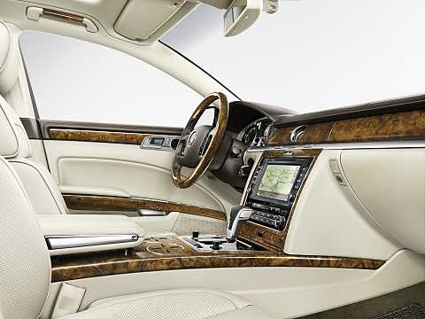 Interior of Volkswagen Phaeton 2015